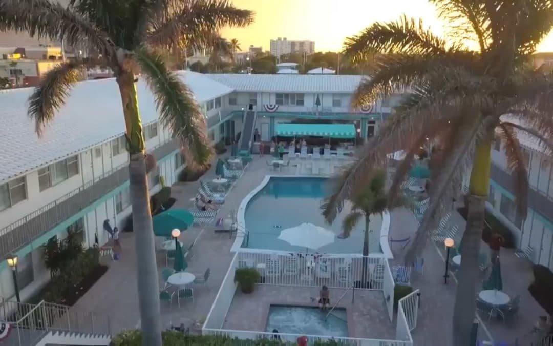 Bird's eye view of Driftwood Beach Club